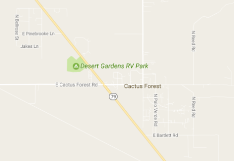 Yup, just one RV park.